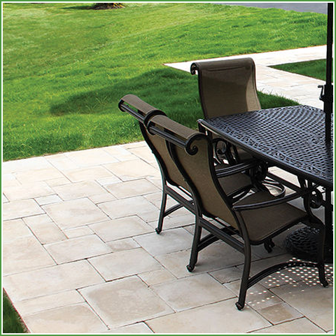 Versailles Travertine Patio Pack