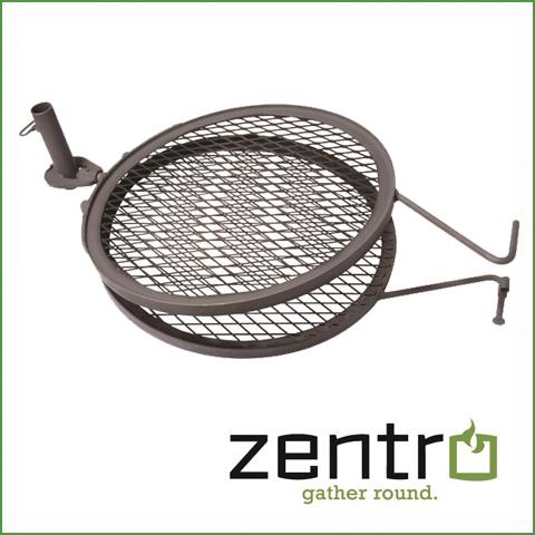 zentro grill rotisserie 24u2033