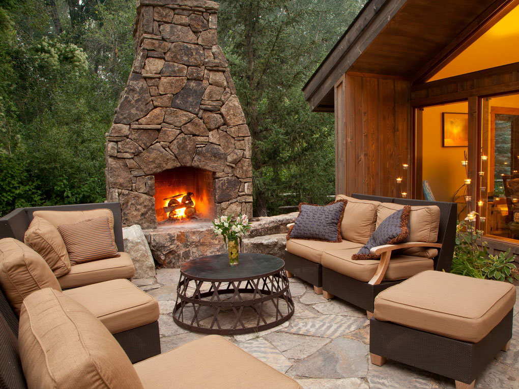 Outdoor Fireplace South Shore