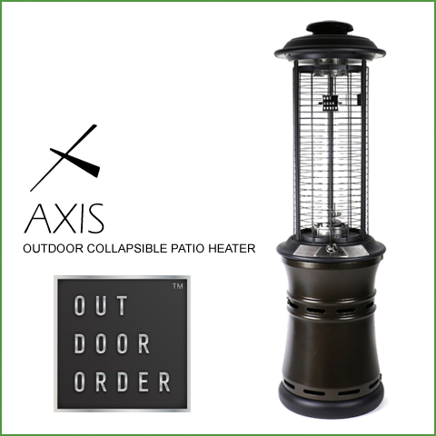 The Outdoor Order Axis Glass Tube Patio Heater Provides Heat And Ambient  Light In An Innovative And Convenient Design Thatu0027s Ready To Go Right Out  Of The ...